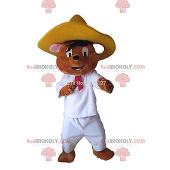 Maskottchen REDBROKOLY.COM von Speedy Gonzales, Mexikos schnellster Maus