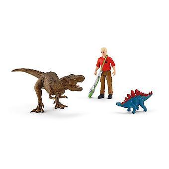 Dinosaurussen Tyrannosaurus Rex Attack Toy Playset