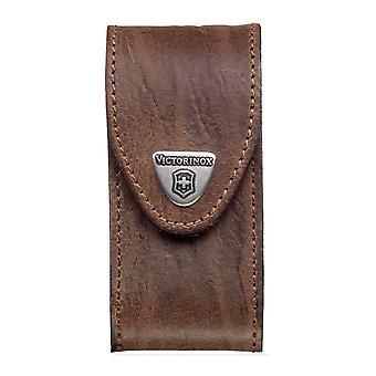 Bolsa de cinturón Victorinox para navaja suiza de 5-8 capas - Funda de cuero marrón