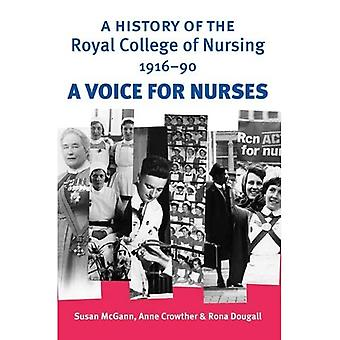 History of the Royal College of Nursing, 1916-89: A Voice for Nurses