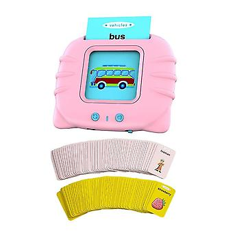 English Enlightenment Card Type Early Education Machine Toddler Learning Toys Electronic
