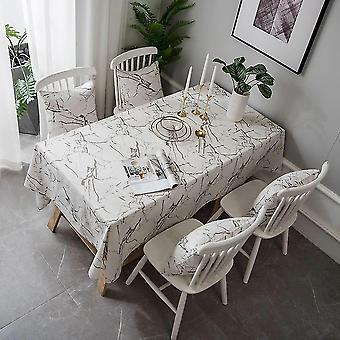 Tablecloths 60cm modern modern marble tablecloth tablecloth restaurant kitchen decoration tablecloth white