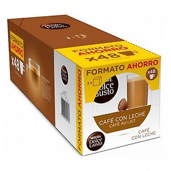 Coffee Capsules Nescafé Dolce Gusto Cafe Au Lait (48 Uds) 16398 16398 16398