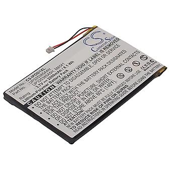 Battery for Apple iPOD 1st / 2nd Generation P325385A4H MP3 Media Player 2200mAh