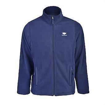 Slimbridge Sanford Size XL Mens Fleece Jacket, Navy