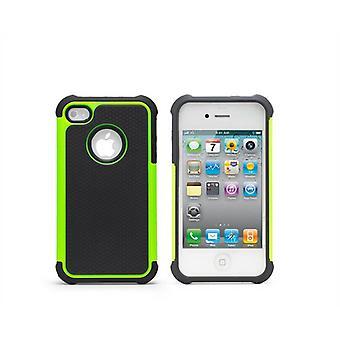 Shock prova Custodia Cover per Apple iPhone 5 5S SE + stilo touch - Green