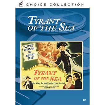 Tyrann av havet (1950) [DVD] USA import