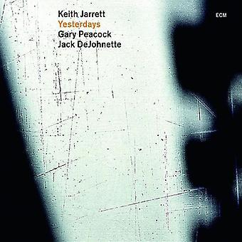 Jarrett/Peacock/Dejohnette - Yesterdays [Vinyl] USA import