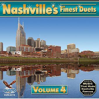 Nashville's Finest Duets - Vol. 4-Nashville's Finest Duets [CD] USA import