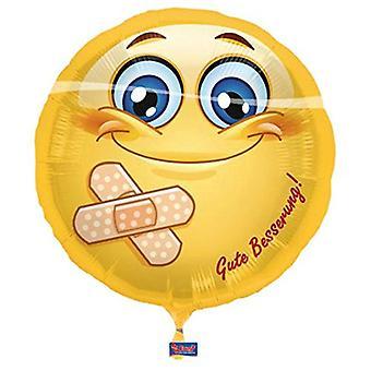 Stagnola pallone smiley elio palloncino get palloncino ben 43 cm