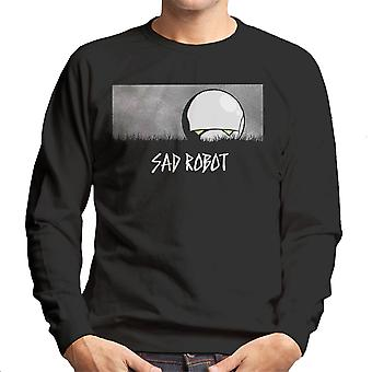 Sad Robot Marvin Hitchhikers Guide To The Galaxy Men's Sweatshirt