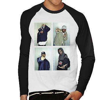 Wu Tang Clan Men's Baseball Long Sleeved T-Shirt