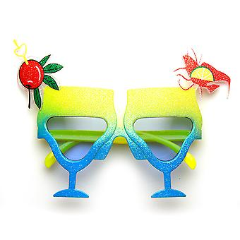 Cocktail Mixed Drink Party Time Celebration Novelty Sunglasses
