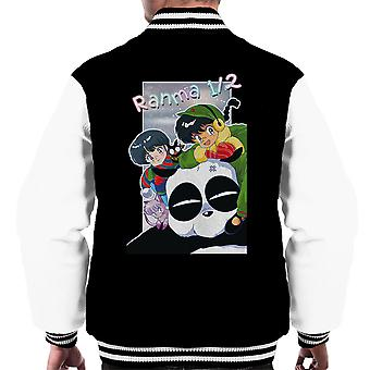 Ranma Akane Genma Winter Men's Varsity Jacket