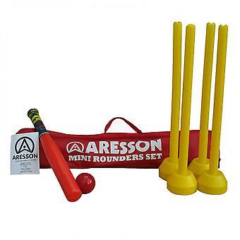 Jeu de thèque ARESSON Mini (bat, billes, souches & sac de transport)