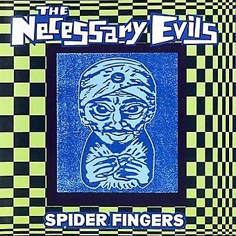 Necessary Evils - Spider Fingers [CD] USA import