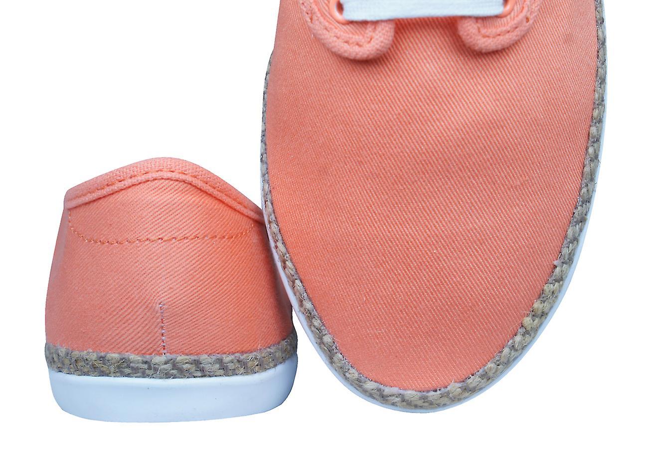 adidas Originals Adria PS Espadrile Womens Trainers Shoes Orange