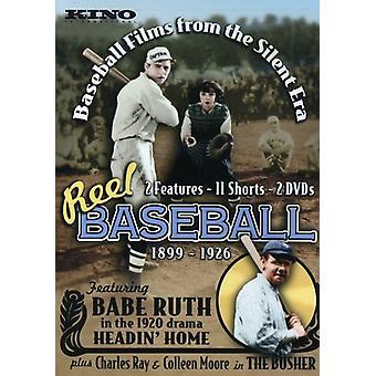 Hjul Baseball-Baseball filmer fra the Silent tid ([DVD] USA import