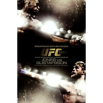 UFC - Jones vs Gustafsson juliste Juliste Tulosta