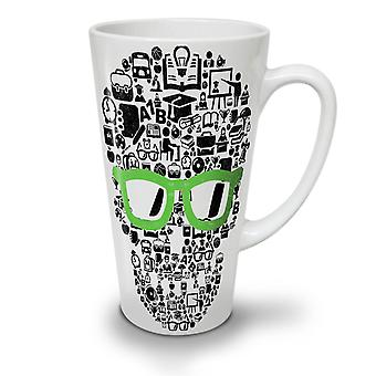 Swag Cool Head Face Skull NEW White Tea Coffee Ceramic Latte Mug 12 oz | Wellcoda