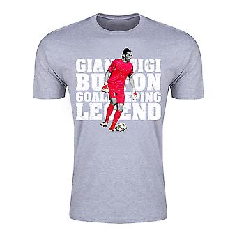 Gianluigi Buffon Goalkeeping Legend T-Shirt (Grey) - Kids