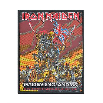 Iron Maiden inaugural Angleterre Patch tissé