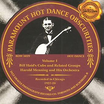Paramount Hot Dance Obscurities 1927-28 - Paramount Hot Dance Obscurities 1927-28 [CD] USA import
