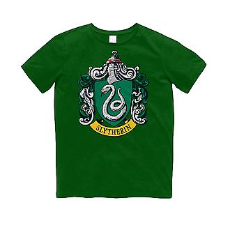 Harry Potter para crianças/crianças Slytherin Crest t-shirt
