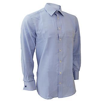 Brook Taverner Mens Bresso Superfine Classic Executive Long Sleeve Cotton Shirt
