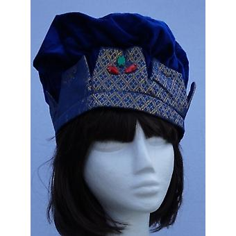 Aladin Hat Orient of King Hat blue / gold Aladinhut Orient