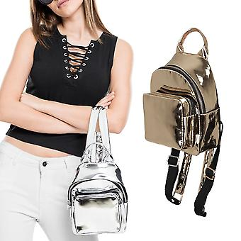 Urban classics - MINI metallic backpack fashion backpack