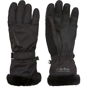 Trespass Womens/Ladies Yani Waterproof Breathable Padded Gloves