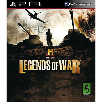 History Legends of War (PS3) - Factory Sealed