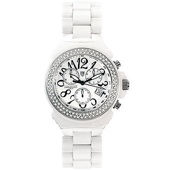 Lancaster women's Watch Diamond LA0285BN-BN ceramics
