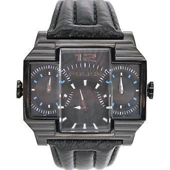 Police montre montre-bracelet en cuir analogique PL. 13088JSB/02