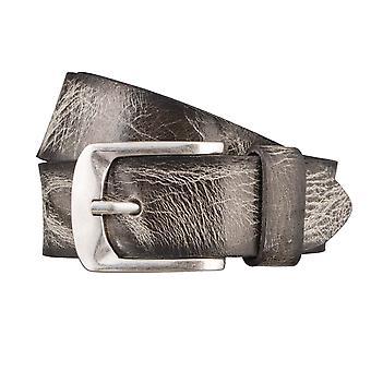 BERND GÖTZ belts men's belts leather belt leather grey 2985