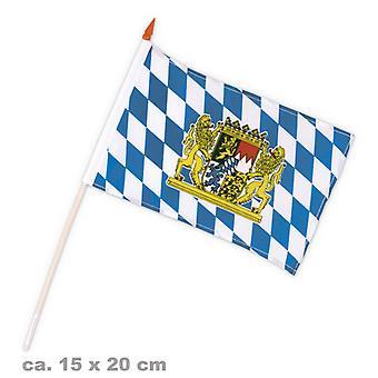 Détachement à la Bavière de l'Oktoberfest de Bavière drapeau 15x20cm