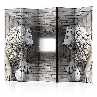 Biombo - Stone Lions II [Room Dividers]