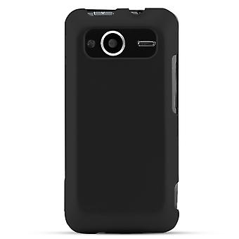 Technocel pehmeä kilpi vaihto HTC EVO 4G (musta)