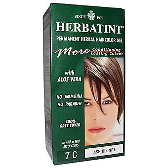 Herbatint, Ash Blonde Hair Colour 7C, 150ml