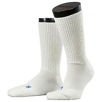 Ergo Midcalf sokken van Falke Walkie - wit