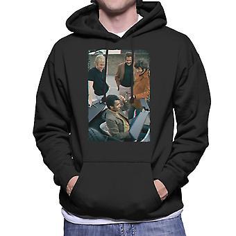 TV volte Bobby Moore e Gang 1970 uomo Felpa con cappuccio