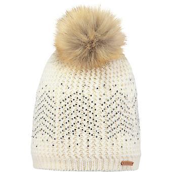 Barts Marceline Bobble Hat in Marscarpone