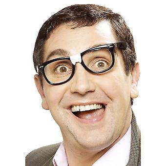 Smiffys Unisex Geek glasögon