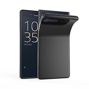 Cadorabo Case for Sony Xperia X Compact Case Cover - Flexible TPU Silicone Case Case Ultra Slim Soft Back Cover Case Bumper