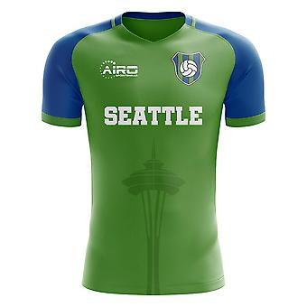 2020-2021 Seattle Home Concept Fotbal Shirt