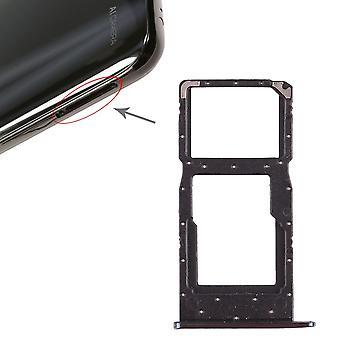 Para Huawei P cartões inteligentes de 2019 Halter SIM cartão titular de slide de bandeja azul novo de peças de reposição