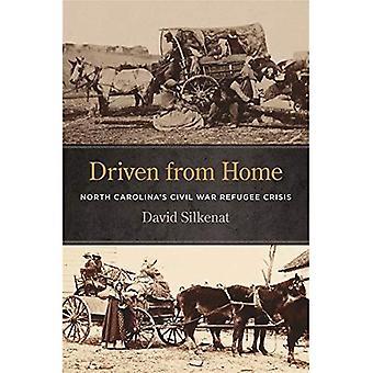 Expulsos de casa: crise de refugiados de Guerra Civil da Carolina do Norte (série de guerras incivil)