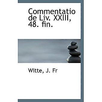 Commentatio de Liv. XXIII, 48. déf.