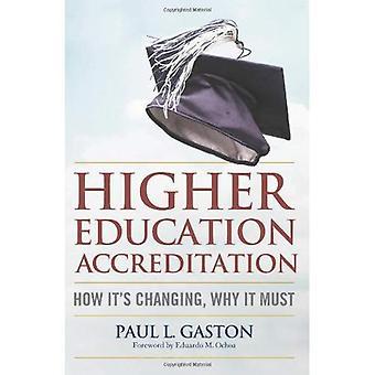 Hoger onderwijs accreditatie: Hoe het verandert, daarom moet